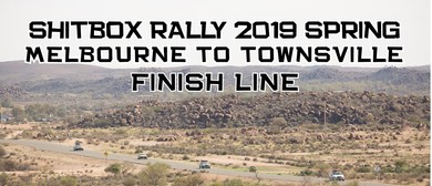 Shitbox Rally 2019 Spring Finish Line