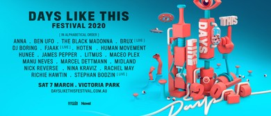 Days Like This Festival 2020