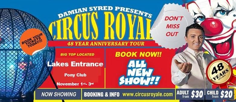 Damian Syred Presents Circus Royale