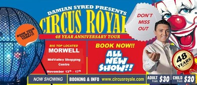 Damian Syred Presents Circus Royale