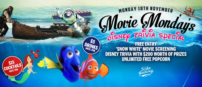 Movie Mondays ft. Disney Trivia