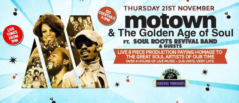 Motown & the Golden Age of Soul – Motown & Soul Tribute