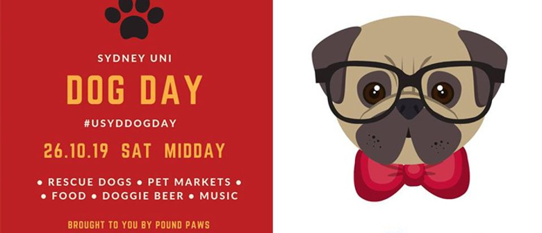 Sydney Uni Dog Day – Pound Paws