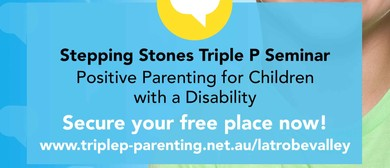Triple P – Positive Parenting for Children With a Disability