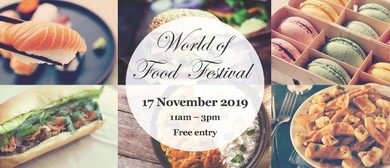 World of Food Festival 2019