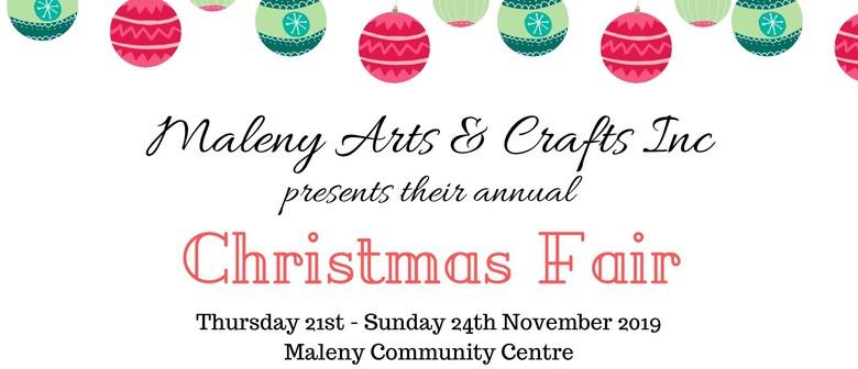Maleny Arts & Crafts Group Christmas Fair