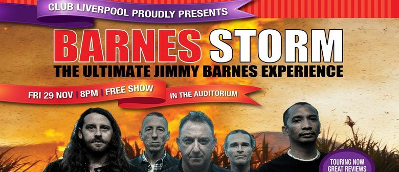 Barnes Storm – The Ultimate Jimmy Barnes Experience