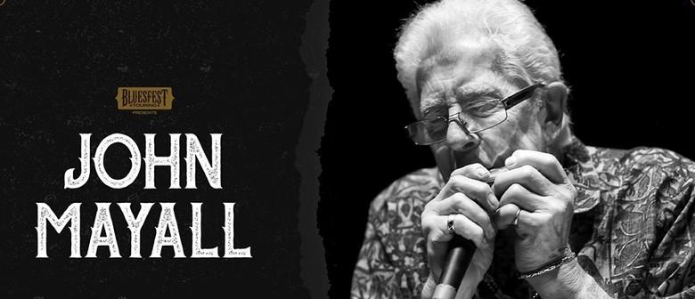 John Mayall – Bluesfest Sideshow: CANCELLED