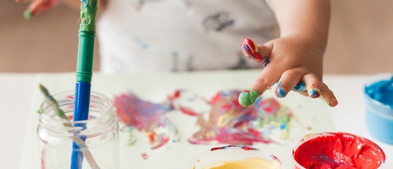 Kids Create With Paint