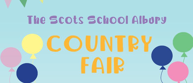 The Scots School Albury Country Fair