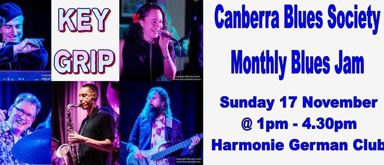 Key Grip – Canberra Blues Society November Blues Jam