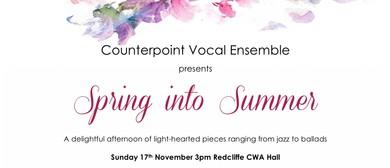 Counterpoint Vocal Ensemble presents Spring into Summer