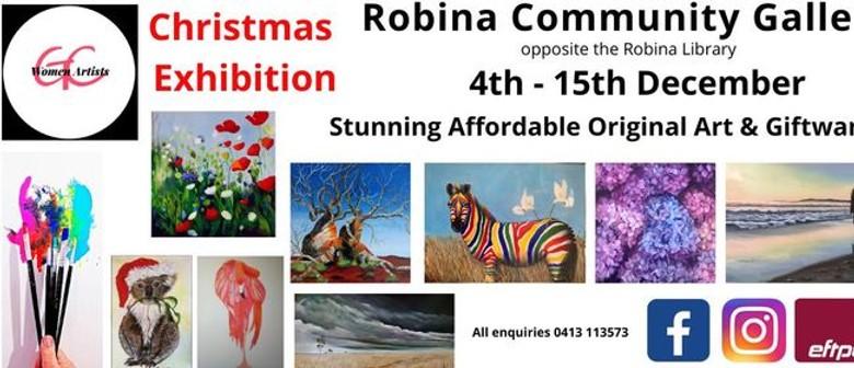 Gold Coast Women Artists Christmas Art Exhibition