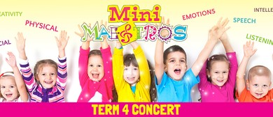 Mini Maestros End of Year Concerts
