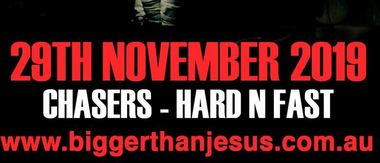 Bigger Than Jesus + Envy Marshall + The Blacktides : 29 NOV