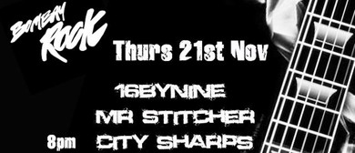 16byNine, Mr Stitcher, City Sharps
