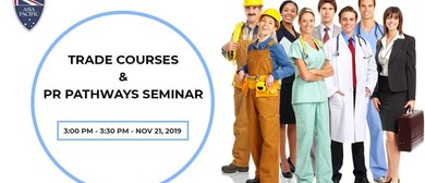 Trade Courses & PR Pathways Seminar