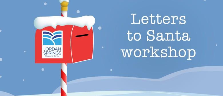 Letters to Santa Workshops