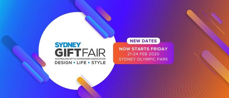 AGHA Sydney Gift Fair 2020
