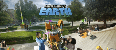 Minecraft Earth Mob Pop-Up