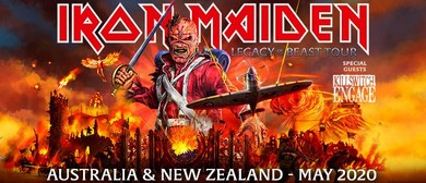 Iron Maiden – Legacy of the Beast Tour: POSTPONED