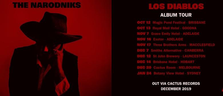 Rhyece O'Neill & The Narodniks - Los Diablos Album Launch