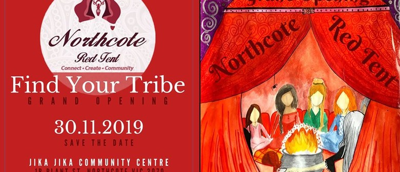 Northcote Red Tent – Find Your Tribe