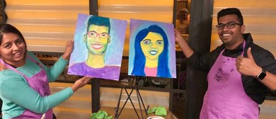 Painting Partners – Dine In Painting Class