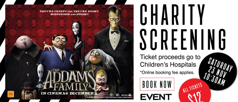 Advance Charity Screening – The Addams Family