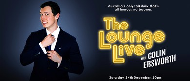 The Lounge Live with Colin Ebsworth