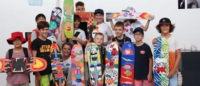 Art Est Skateboard Deck Workshop