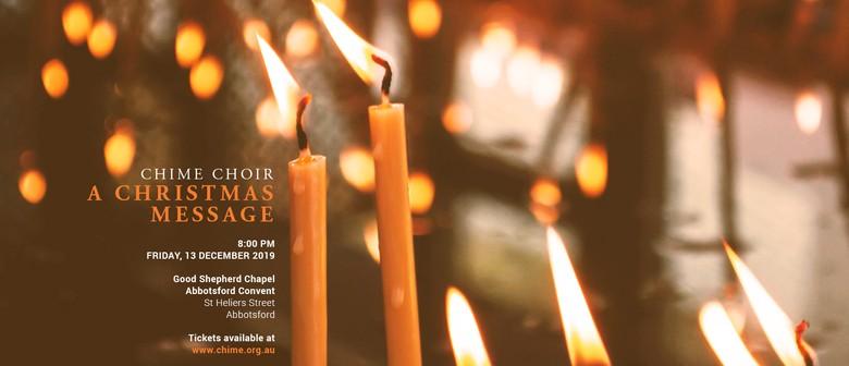 Chime Choir: A Christmas Message