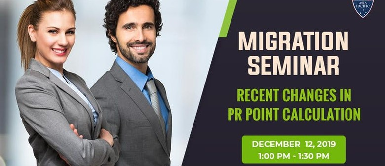 Recent Changes In PR Point Calculation Info Session