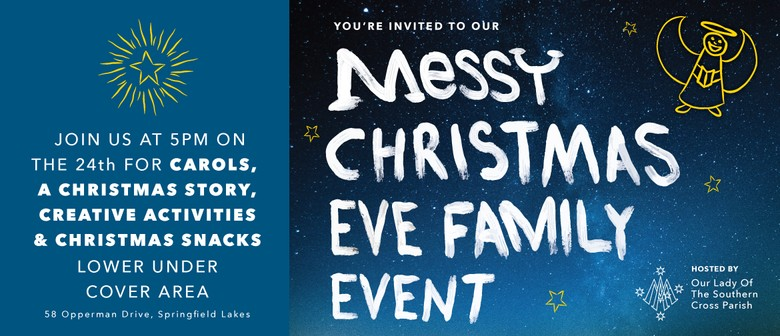 Messy Christmas Eve Family Event