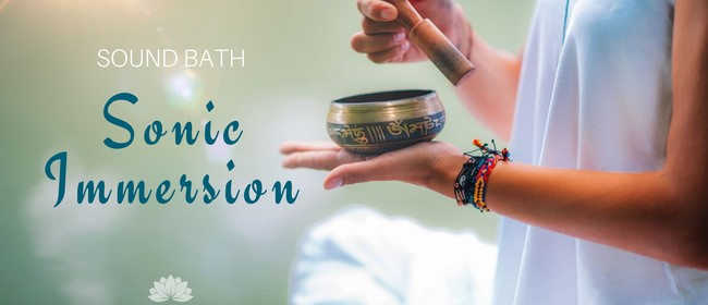 Image for Sonic Immersion: Sound Bath