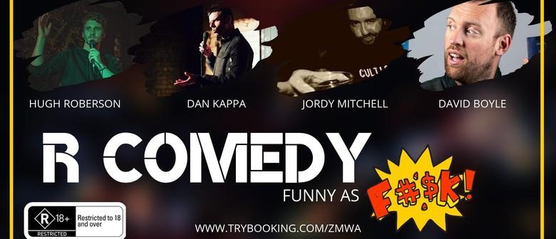 R Comedy – Funny as F%#k