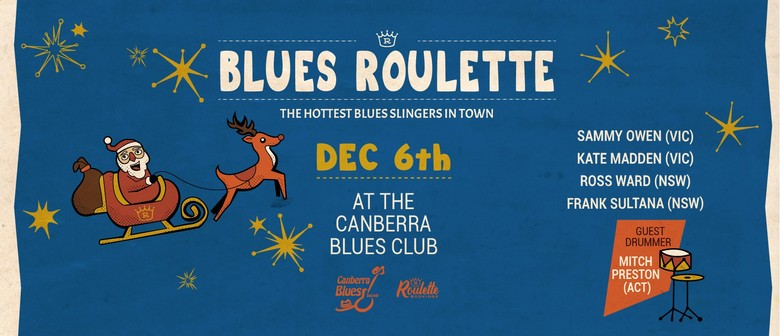 Blues Roulette – Friday Night Xmas Party