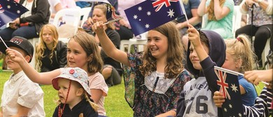 Australia Day In the Gardens