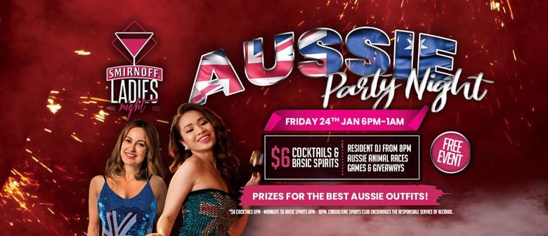 Aussie Party Night