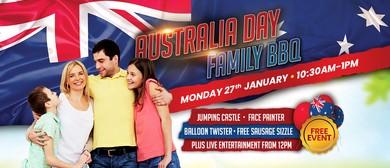 Australia Day Family BBQ
