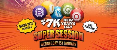 $7K NYD Bingo Super Session
