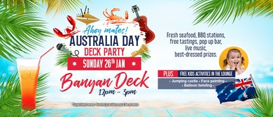 Australia Day Deck Party