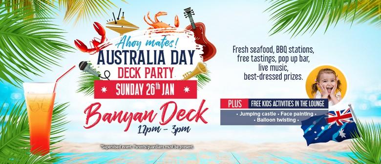 Australia Day Deck Party