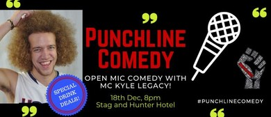 Punchline Comedy with Kyle Legacy