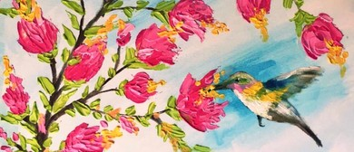 Paint In the Park – Outdoor Painting Class – Palette Knife