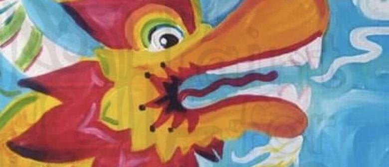 Chinese New Year – Awakening of The Dragon Painting Class