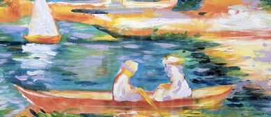 Paint Like Renoir – Sip and Paint Class In the City – Dine I