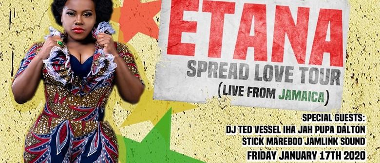Etana – Spread Love Tour 2020