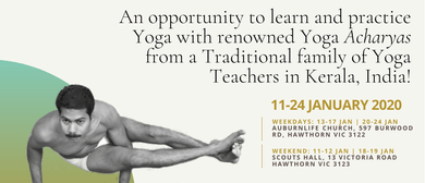 Yoga Workshop With Teachers From India