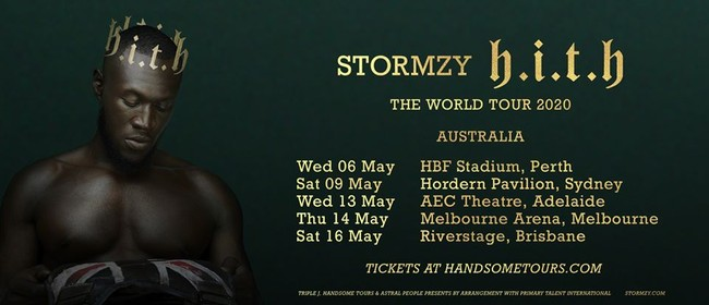 Image for Stormzy – The World Tour 2020
